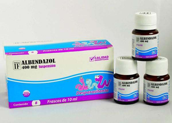 Альбендазол для профилактики аскаридоза