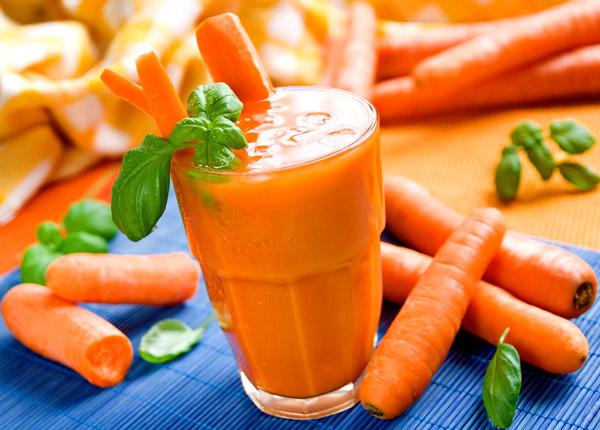 Лечение аскаридоза морковным соком