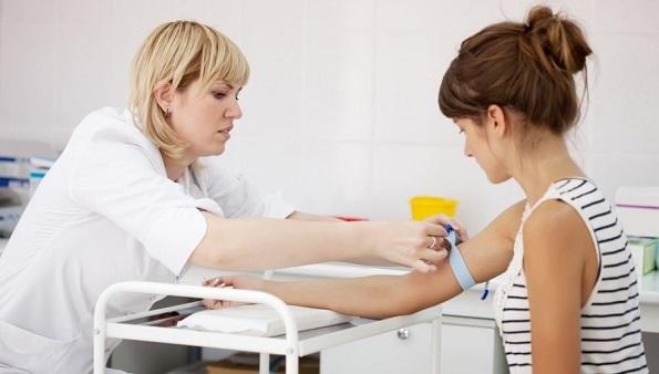 Процедура забора крови на гельминты
