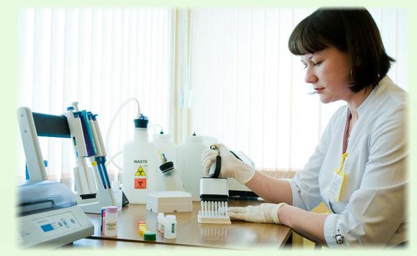 Проведение анализа на глисты
