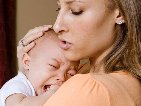 Малыш часто плачет из-за дискомфорта