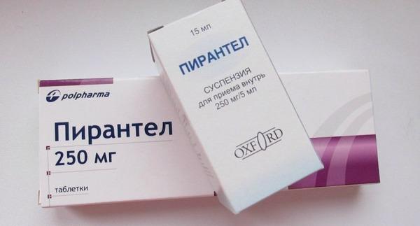 Пирантел и Пиперазин можно применять при грудном вскармливании