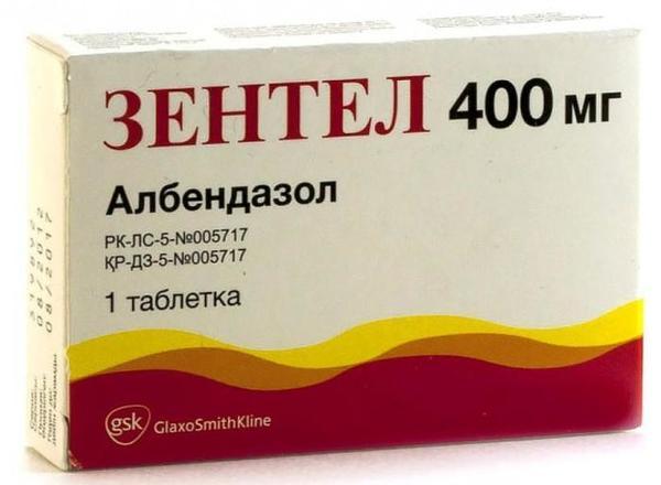 Лекарство Зентел