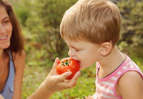Грязные овощи - частая причина гельминтозов