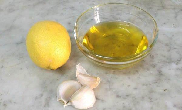 Масло с чесноком и лимоном