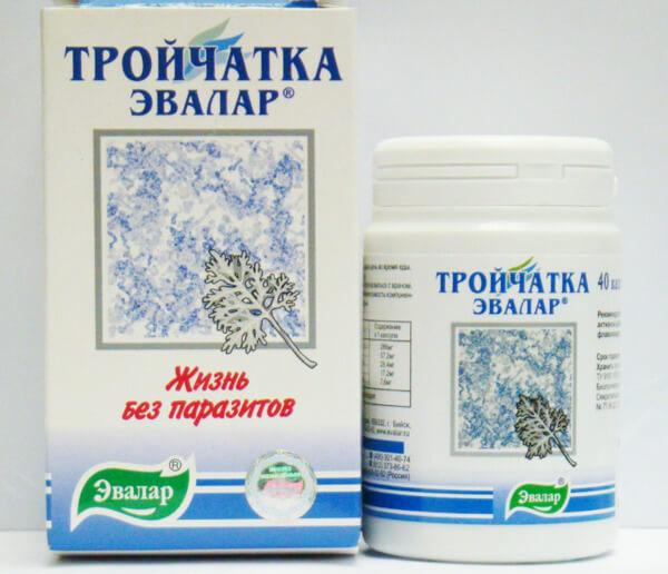 Аптечное средство - тройчатка Эвалар