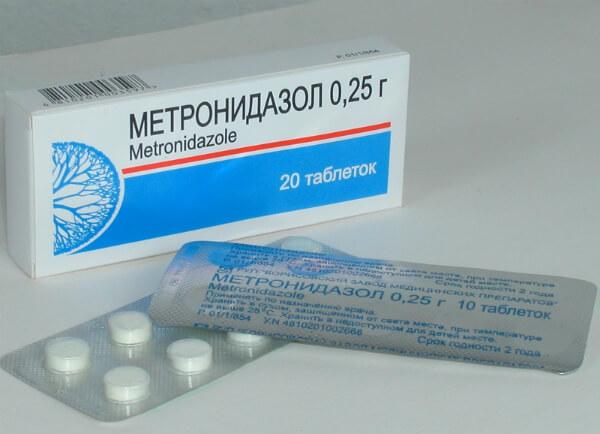 Метронидазол при демодекозе
