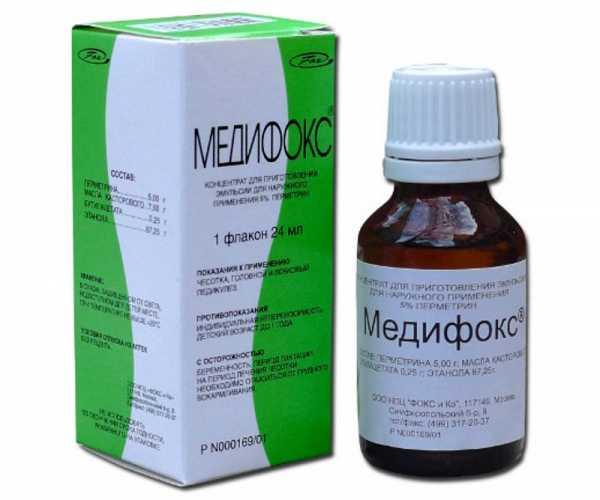 Медифокс от педикулеза и чесотки