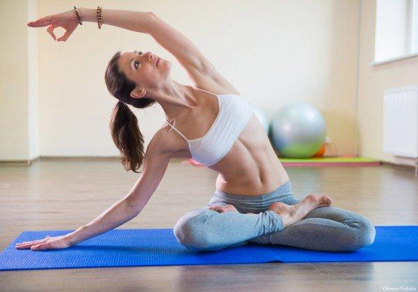Йога при нервной чесотке