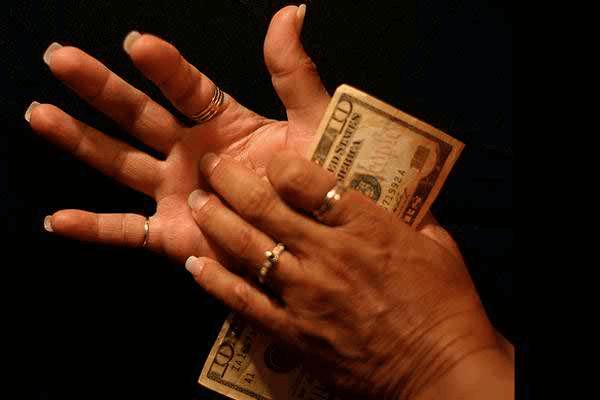 К чему чешется, если точно не к деньгам?