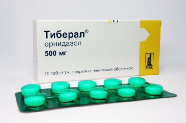 Тиберал - действующее вещество орнидазол