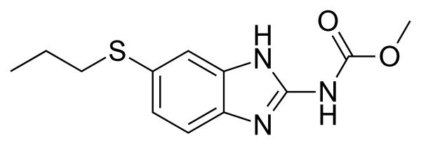 Альдазол, действующее вещество - альбендазол