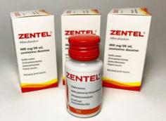 Зентел в виде суспензии – эффективное лечение детей от глистов