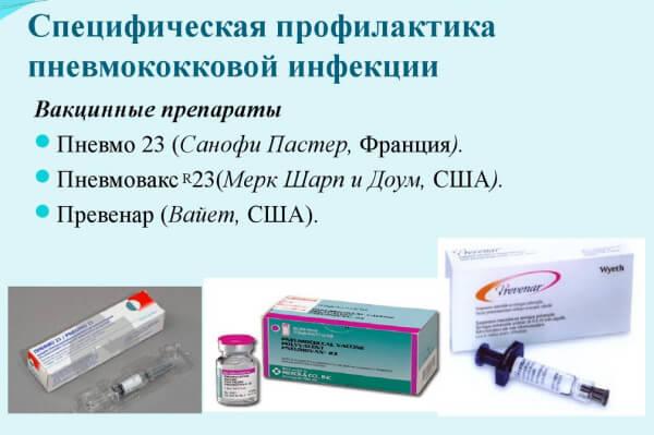 Прививка от пневмококка