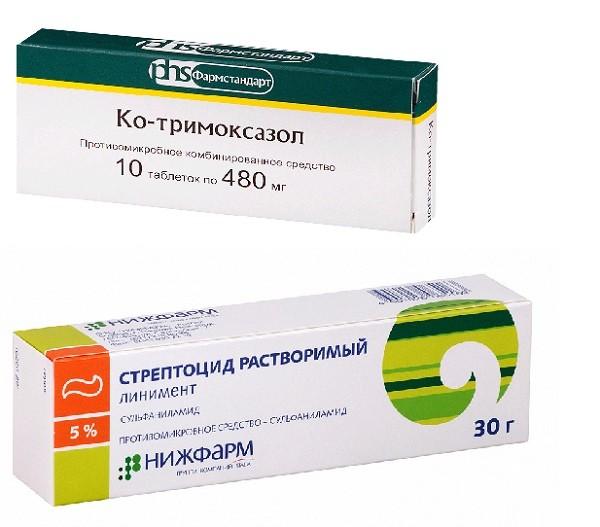Антибиотики сульфаниламиды