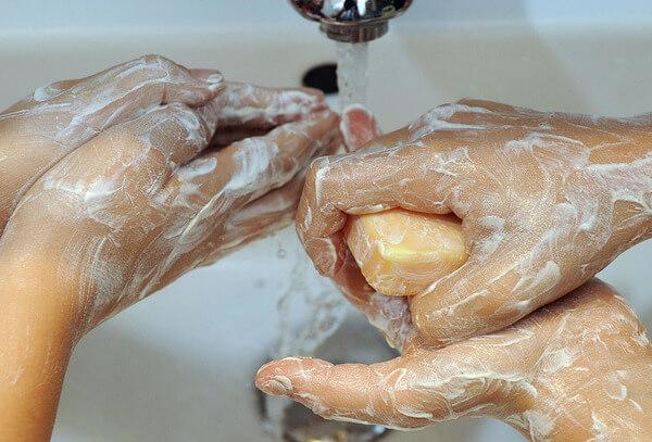 Чистые руки - основное правило профилактики гельминтоза