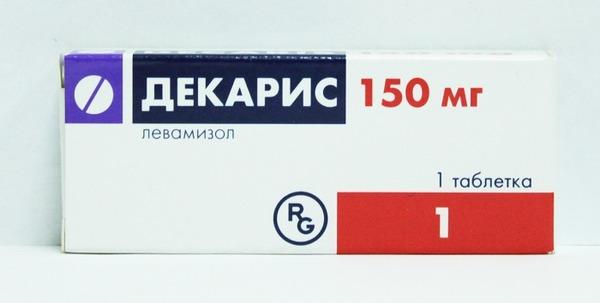 Таблетка Декариса