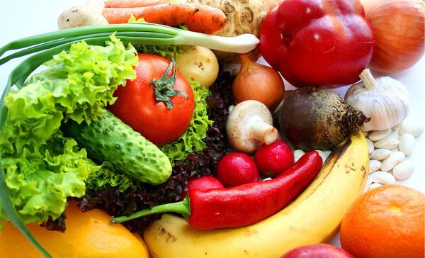 Фрукты и овощи улучшат перистальтику