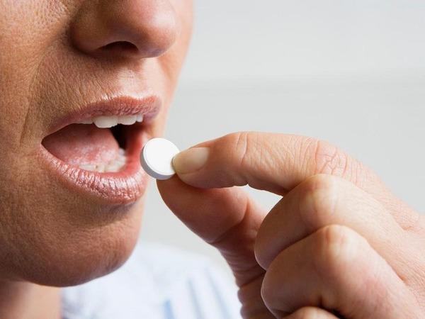 Прием таблетированного Немозола