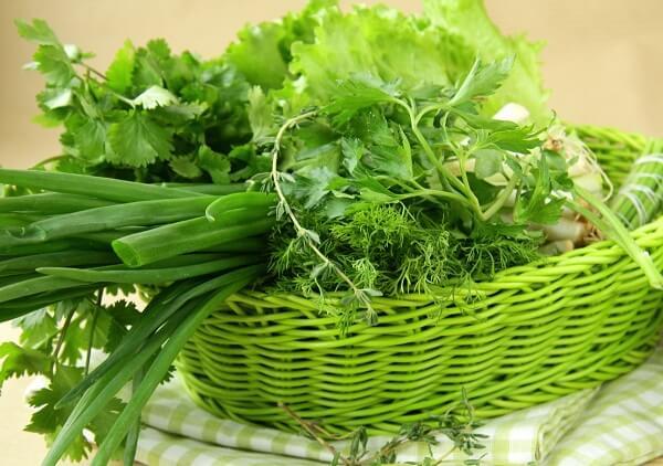 Грязная зелень может быть причиной заражения