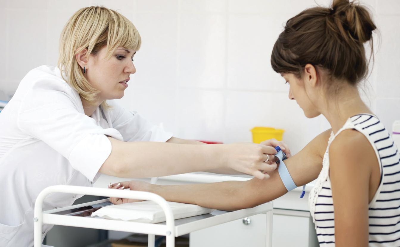 Взятие крови из вены на инфекцию