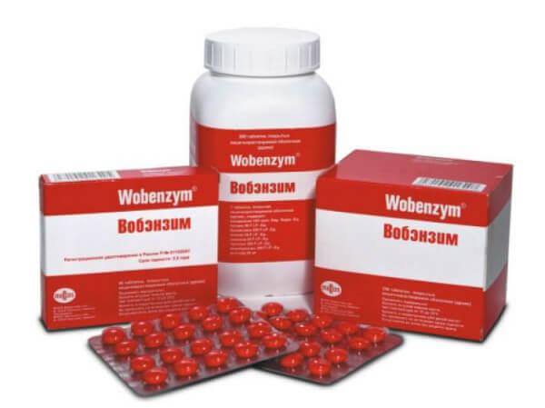 Вобэнзим от демодекоза