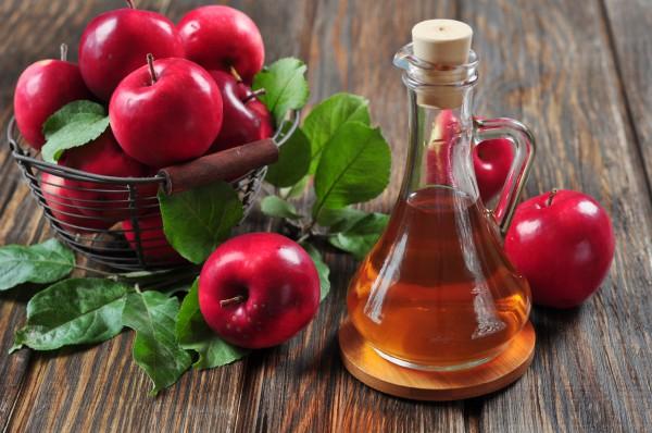 Яблочный уксус при демодекозе