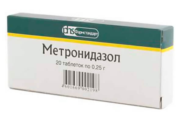 Метронидазол при трихомониазе