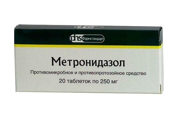 Метронидазол от ротовой трихомонады