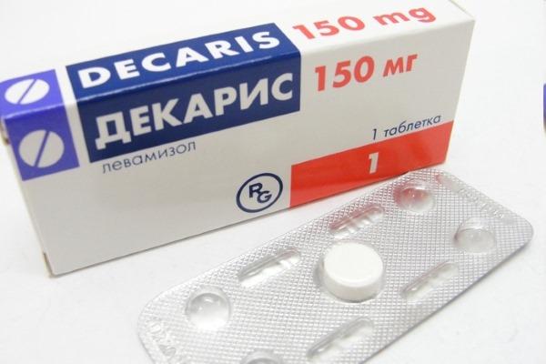 Декарис - действующее вещество левамизол