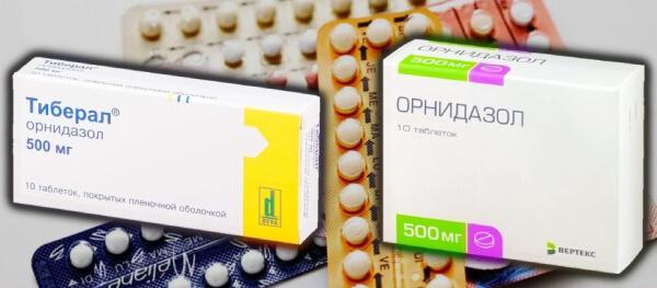 Что лучше, Тиберал или Орнидазол?