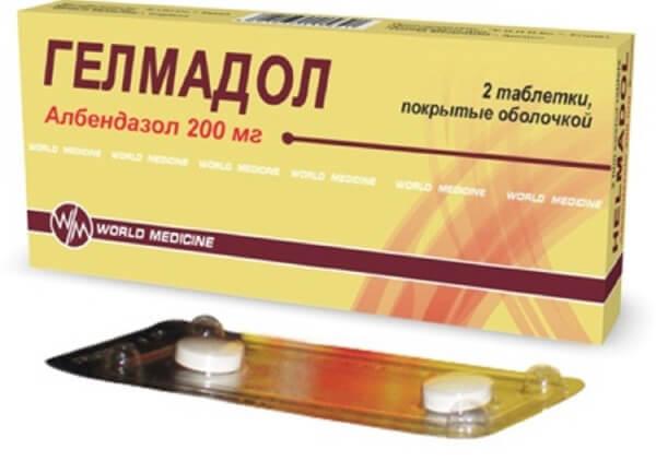 Гельмадол - препарат от паразитов