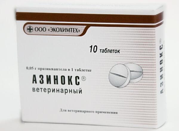 Азинокс для животных