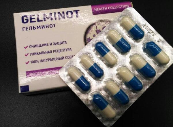 Противопаразитарный препарат Гельминот