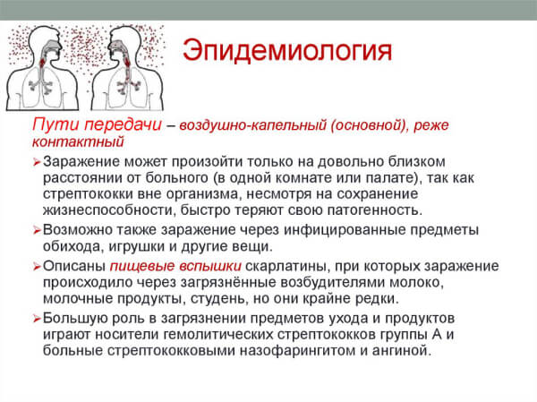 Пути передачи стрептококковых инфекций