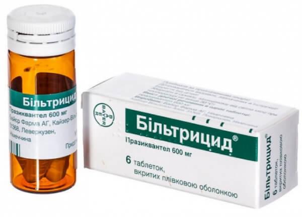 Лечение дифиллоботриоза